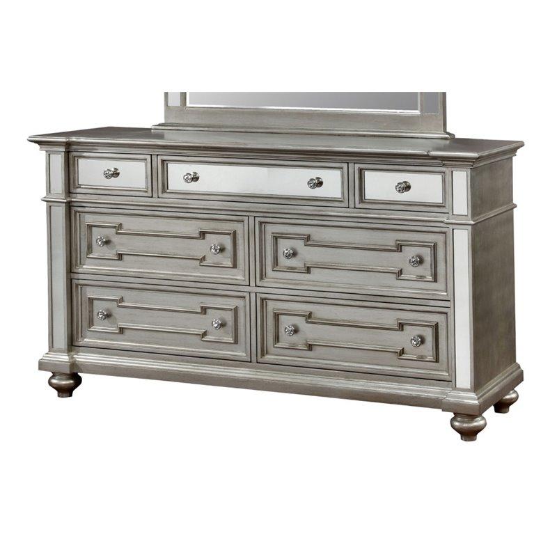 Silver Mirrored Dresser  BestDressers 2019