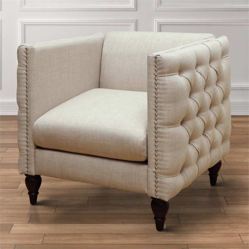 tufted accent chairs chair design wikipedia furniture of america bently in beige idf 6780bg ch