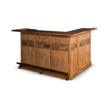 Sunny Designs Sedona Rustic Oak Bar
