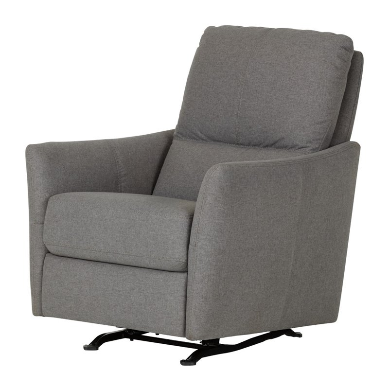 gray rocking chair for nursery tufted wingback dining room chairs south shore cotton candy upholstered in 100255