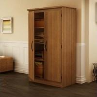 South Shore Park 2 Door Storage Cabinet in Morgan Cherry ...