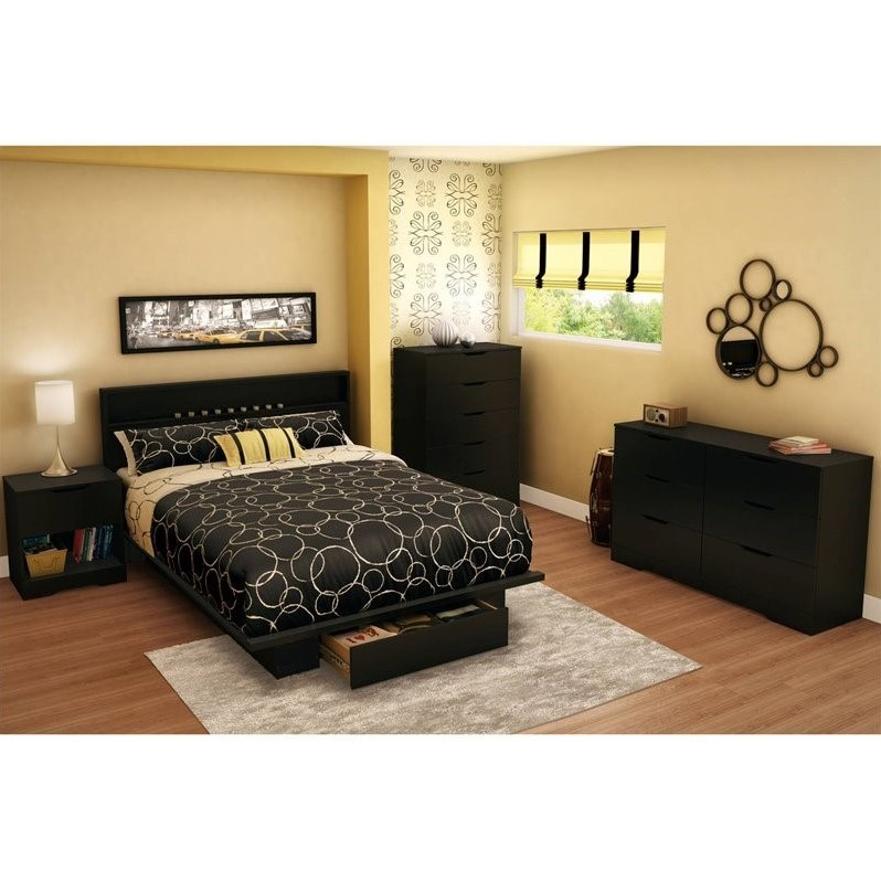Royalcraft heavy duty polyester cushion storage bag large. South Shore Trinity Full/Queen Platform Bed with Drawer in