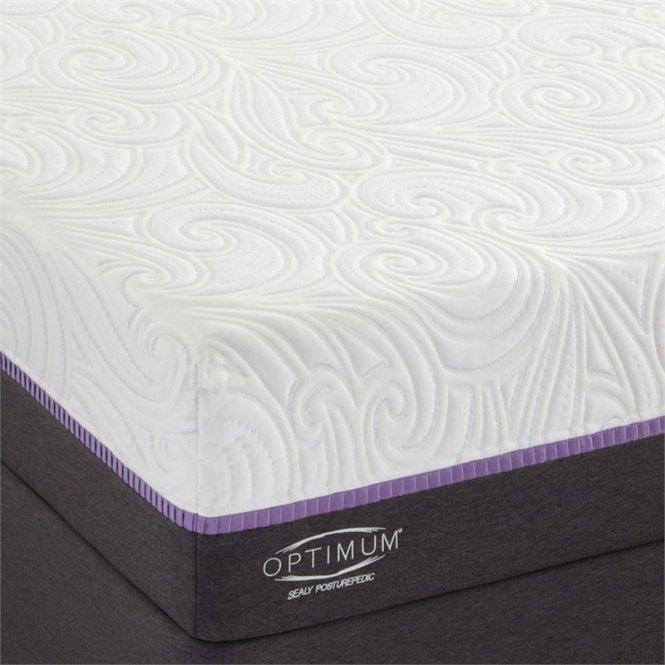 Sealy Optimum Radiance Cushion Firm Split California King Mattress