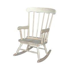 Kids Wood Rocking Chair Barrel Swivel Rosebery Rk 1523046