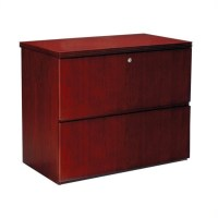 Mayline Luminary 2 Drawer Lateral Wood File Cabinet in