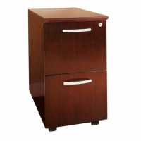 Mayline Corsica 2 Drawer Mobile Vertical Wood Filing ...