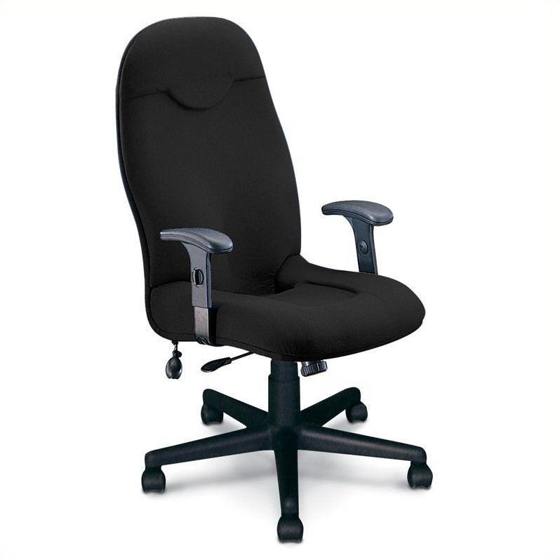 Mayline Comfort Executive High Back Office Fabric Office