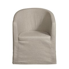 Barrel Back Chair Reclining Computer Home Fare Slipcover With Casters Ds D192 140 538