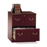 Bush Saratoga Executive 2 Drawer Lateral Wood File Cherry