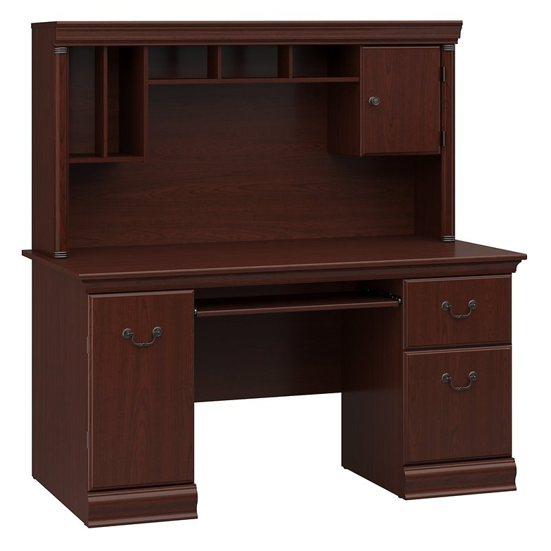 Bush Birmingham  Hutch Computer Desk  eBay