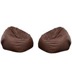 Chairs In A Bag Thonet For Sale Set Of 2 Cozy Modern Bean Brown 1904570 Pkg