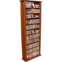 "Venture Horizon 76"" Tall CD DVD Wall Media Storage Rack - 2411"