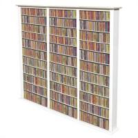 "Venture Horizon Triple 76"" Tall CD DVD Wall Rack Media ..."