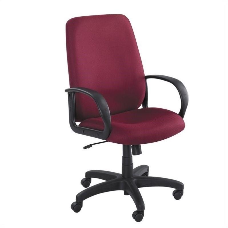 office chair high back cover hire gippsland burgundy executive 6300bg