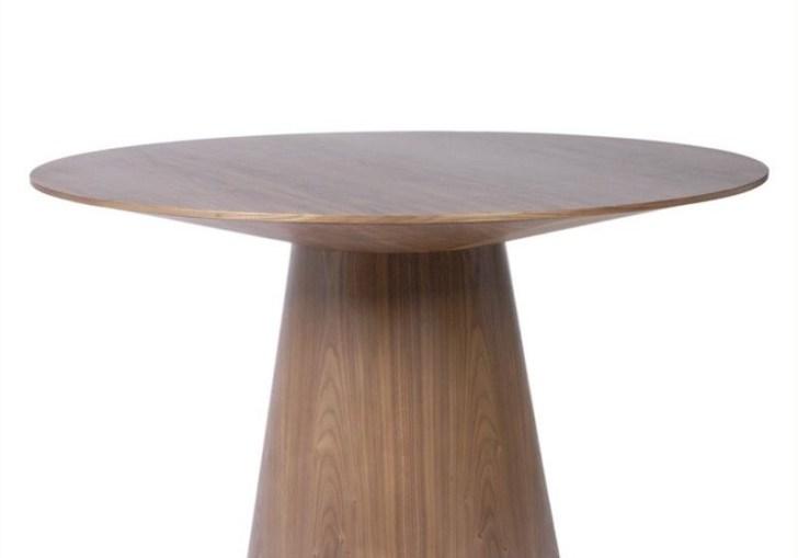 Modern Round Pedestal Dining Table