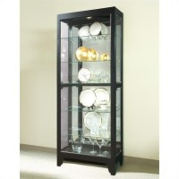 Onyx Curio Cabinet - 21218