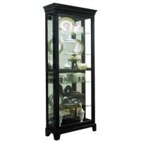 Pulaski Oxford Black Curio Cabinet