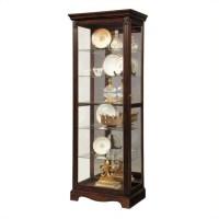 Pulaski Curio Classic Display Cabinet in Warm Cherry - 21457