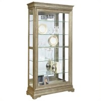 Pulaski Lyon Curio Cabinet | eBay