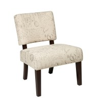 Accent Chair in Script - JAS-S13