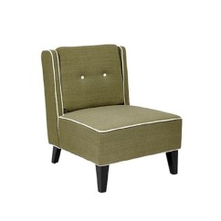 Upholstered Slipper Chair Dining Room Covers High Back In Woven Seaweed Mar51 S22