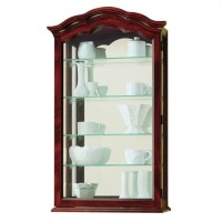 Howard Miller Vancouver Wall Display Curio Cabinet - 685100