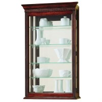 Edmonton Wall Display Curio Cabinet - 685104