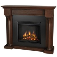 Real Flame Verona Indoor Electric Fireplace in Chesnut Oak ...