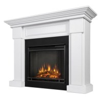 Real Flame Hillcrest Electric Fireplace White - 7910E-W