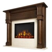 Real Flame Berkeley Electric Fireplace Chesnut Oak - 7810E-CO