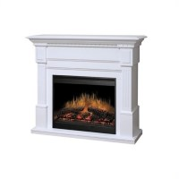 Dimplex Essex Electric Fireplace in White - GDS30-1086W
