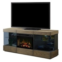 Dimplex Axel Electric Fireplace TV Stand with Logset in ...