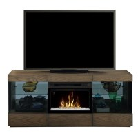 Dimplex Axel Electric Fireplace TV Stand with Acrylic in ...
