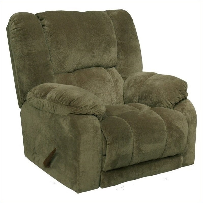 patio recliner lounge chair swivel club chairs catnapper hogan inch away wall hugger in sage - 45424233415