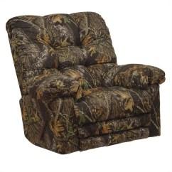 Camo Living Room Furniture Sets Media Catnapper Magnum Chaise Rocker Recliner Chair In Mossy Oak ...