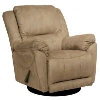 Catnapper Maverick Chaise Swivel Glider Recliner Chair in ...