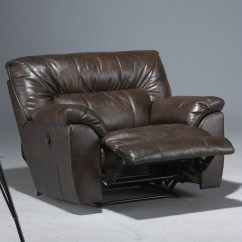 Power Recliner Chairs Reviews Revolving Chair Making Noise Catnapper Nolan Leather Cuddler In Godiva - 40404122329302329