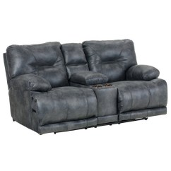 Catnapper Sofas And Loveseats Comfortable Sofa Sleepers Voyager Lay Flat Reclining Console Loveseat In ...