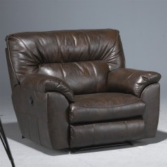 Catnapper Reclining Sofas Reviews Sofa Beds At Dfs Nolan Leather Power Cuddler Recliner In Godiva ...