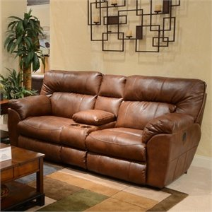 catnapper sofas and loveseats floor sofa chairs recliners at cymax nolan leather reclining loveseat in chestnut