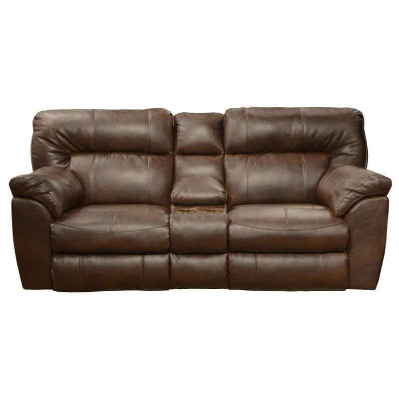 nolan power reclining sofa dane decor catnapper leather loveseat in ...