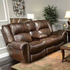 Catnapper Sofas And Loveseats Long Low Sofa Without A Back Or Arms Jordan Leather Lay Flat Reclining Loveseat In ...