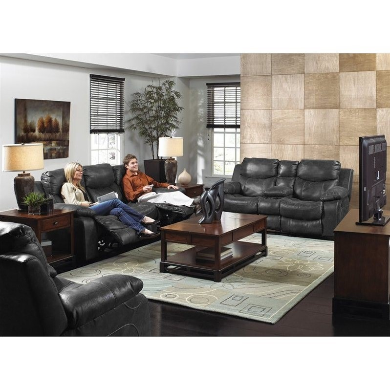 catnapper reclining sofas reviews alton sofa pier one catalina 3 piece console leather ...
