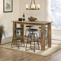 Counter Height Dining Table in Craftsman Oak - 416698