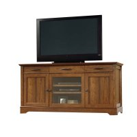 Sauder Carson Forge TV Stand in Washington Cherry - 415572