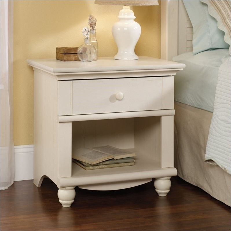 patio chairs cushions replacement material for nightstand in antique white - 400639