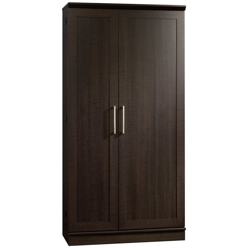 Sauder HomePlus Jumbo Dakota Oak Storage Cabinet