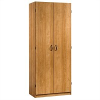 Sauder Beginnings Storage Cabinet in Highland Oak - 413326