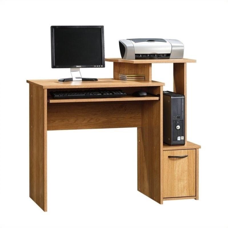 Sauder Beginnings Highland Oak Finish Computer Desk  eBay