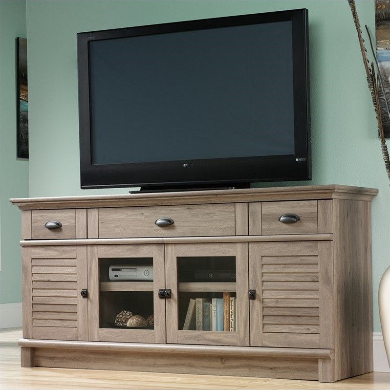 Entertainment Center Metal Cabinet Harbor View Credenza in